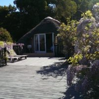 Bottlebrush cottage deck
