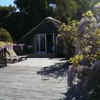 Bottlebrush cottage deck
