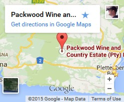 Packwood Wine Estate on Google Maps