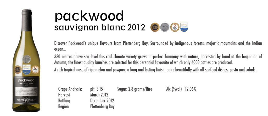 Packwood Sauvignon Blanc 2012